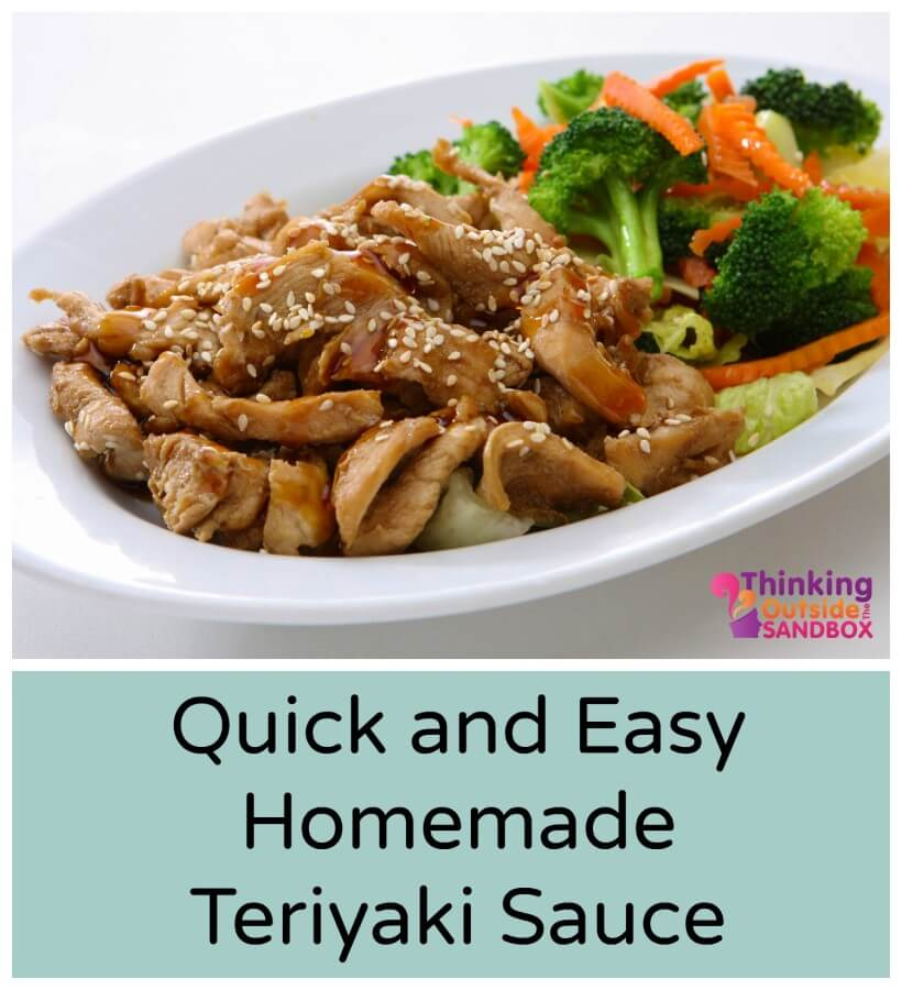 Quick and Easy Teriyaki Sauce.