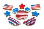 This American Flag Cookie Dessert is very easy to make and is perfect for the summer.
