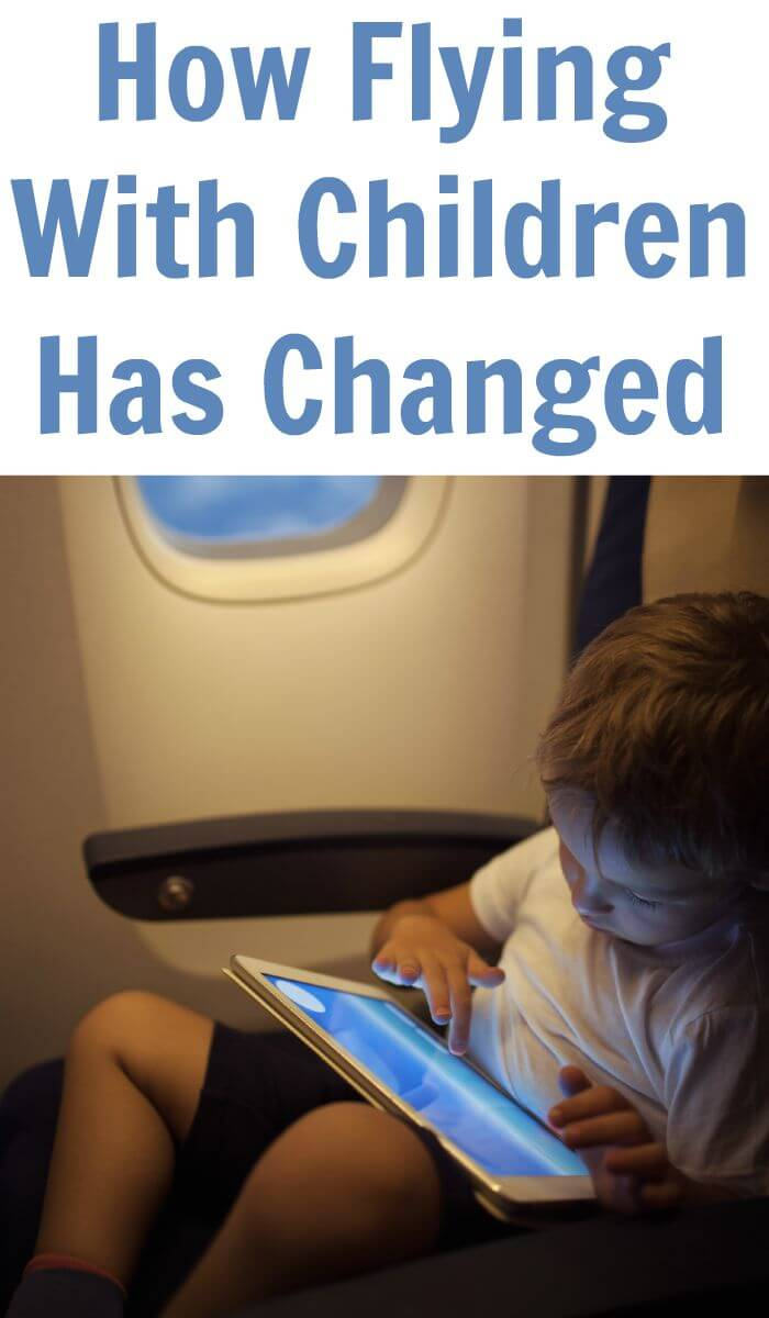 How Flying With Children Has Changed
