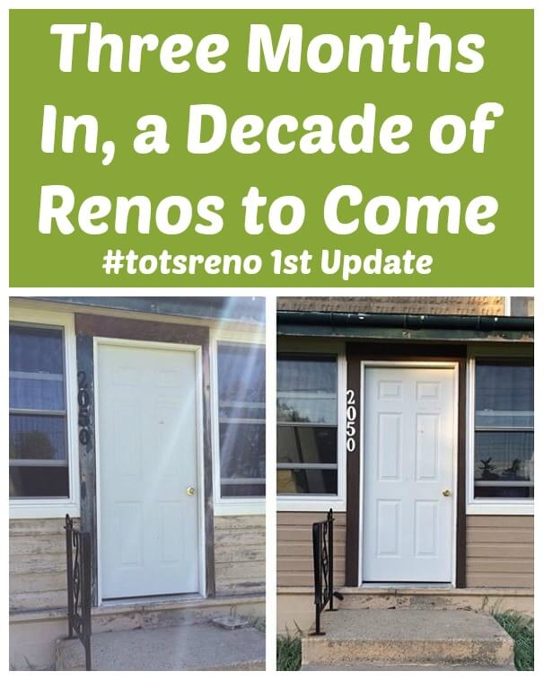 TOTS Family, Parenting, Kids, Food, Crafts, DIY and Travel Three-Months-In-a-Decade-of-Renos-to-Come-totsreno-1st-Update. Decade of Renovations to Come Home TOTS Family  house diy