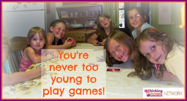 "Play games together as a family. 30+ Solutions for ""Mommy, I'm Bored!"""