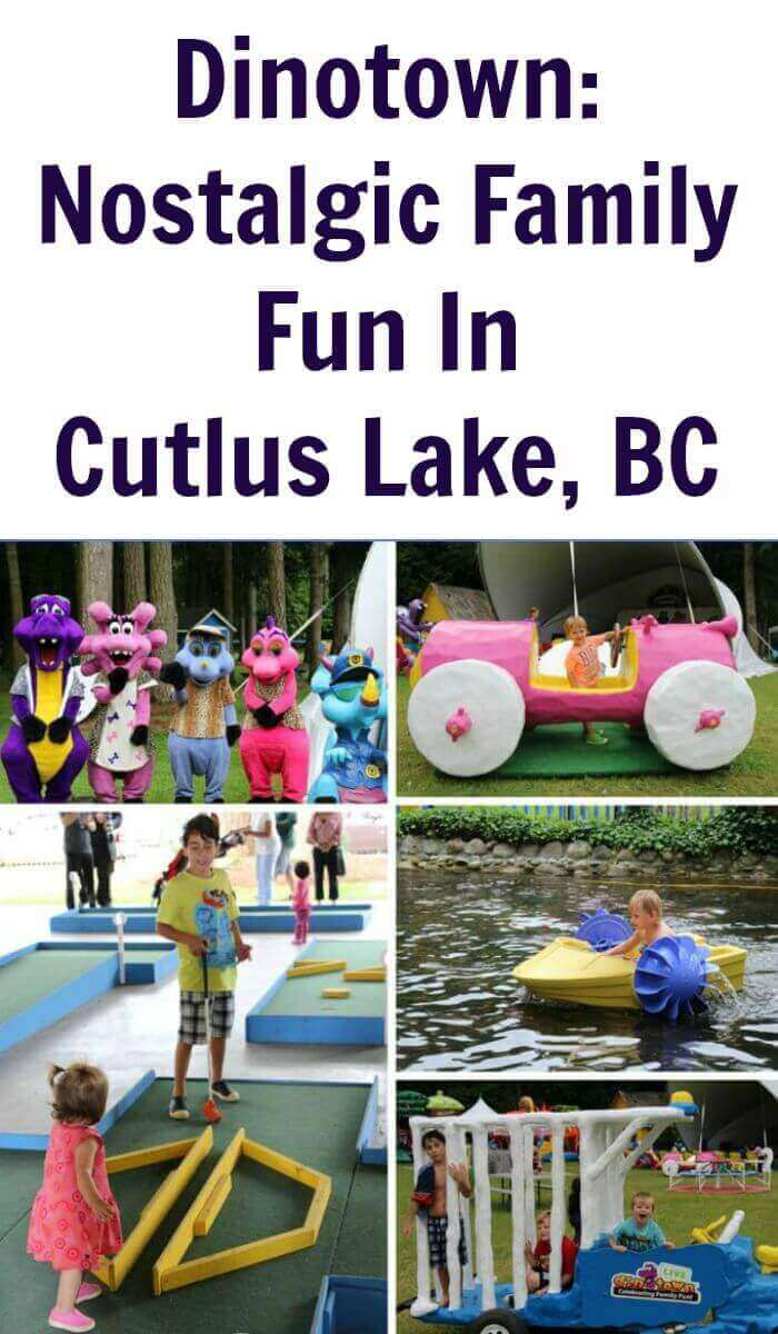 Dinotown: Nostalgic Family Fun In Cutlus Lake, BC