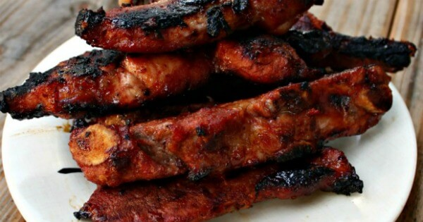 TOTS Family, Parenting, Kids, Food, Crafts, DIY and Travel Sweet-and-Spicy-Drunken-Ribs Sweet And Spicy Drunken Ribs Food Main Dish TOTS Family  summer ribs recipe outdoor recipe family meals drunken ribs bbq