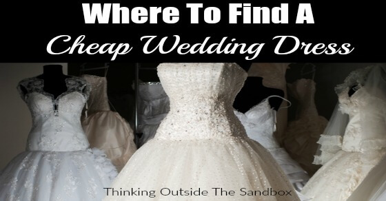 Your budget wedding will be amazing with these tips on where to find cheap wedding dresses that are also gorgeous!
