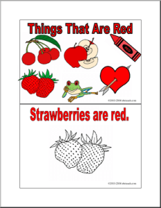 TOTS Family, Parenting, Kids, Food, Crafts, DIY and Travel booklet_thingsthatarered_p-0-232x300 Color My World Series #1 ~ Red. Introducing the Color Red into Daily Activities. Kids  teaching preschool parenting education colours colour color