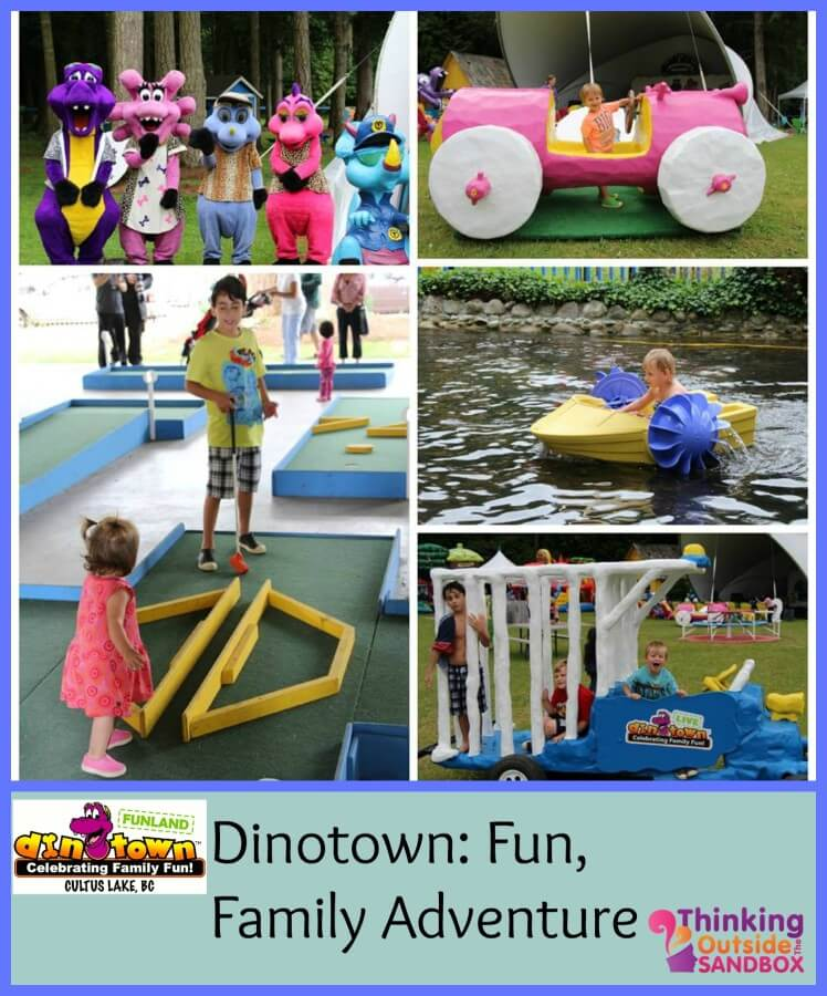 Dinotown Funland At Cultus Lake, BC