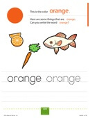 TOTS Family, Parenting, Kids, Food, Crafts, DIY and Travel d09884ec771cb304e9c0538b42f0208d Color My World Series #2 ~ Orange. Introducing the Color Orange into Daily Activities Crafts Kids  orange color my world