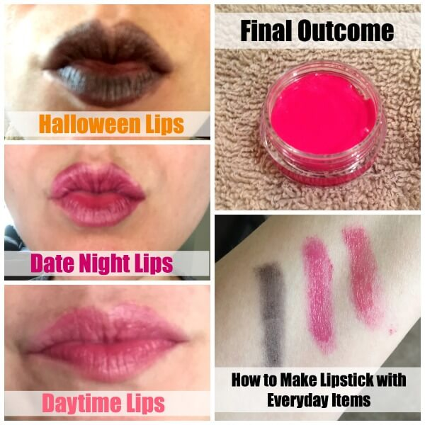 How to Make Lipstick With Everyday Items Final Outcome