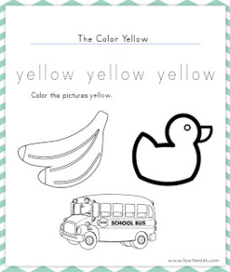TOTS Family, Parenting, Kids, Food, Crafts, DIY and Travel The-Color-Yellow-254x300 Color My World Series #3 ~ Yellow. Introducing the Color Yellow into Daily Activities Crafts Kids  Arts and Crafts