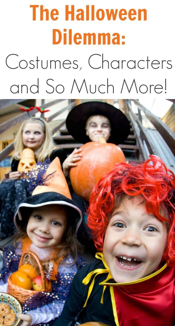 The Halloween Costumes Dilemma: Characters and So Much More!