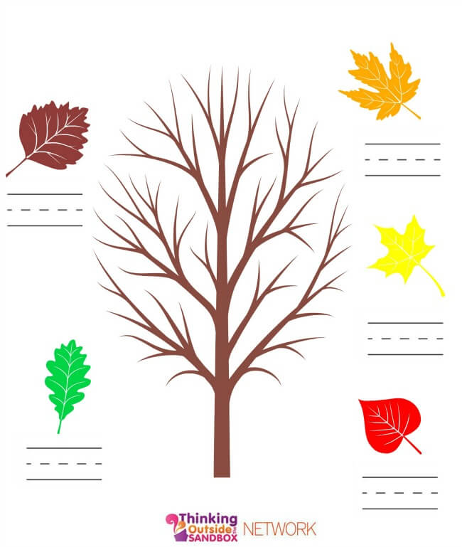 TOTS Family, Parenting, Kids, Food, Crafts, DIY and Travel practice-numbers Fall Fun Plus Educational Leaf Printables! Crafts Kids Learning TOTS Family  printables printable Leaf Craft fall crafts fall activities crafts