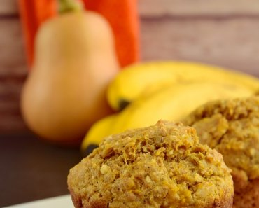 Quick & Easy Vegan Banana Pumpkin Muffins