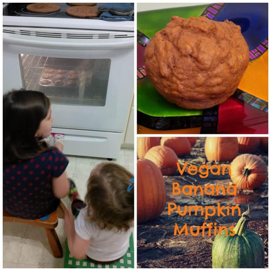 tots vegan banana pumpkin muffins