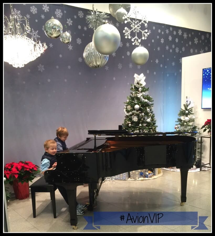 TOTS Family, Parenting, Kids, Food, Crafts, DIY and Travel AvionVIP-Grand-Piano Finding Peace Among Chaos #AvionVIP Parenting Sponsored Style TOTS Family  RBC Mom central credit card coquitlam centre christmas shopping avionvip Avion