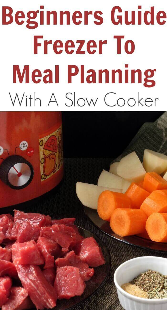 A few weeks ago I started meal planning for my slow cooker and freezer and I prepared this Beginners Guide Freezer to Meal Planning with a Slow Cooker.