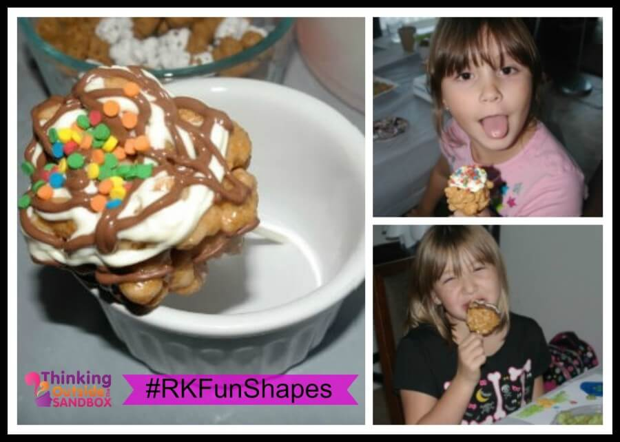 TOTS Family, Parenting, Kids, Food, Crafts, DIY and Travel RK-Station-Three Kellogg's Rice Krispies Multi-Grain Shapes Craft Party! #RKFunShapes Food Giveaways  recipe nutritional Multi-Grain Cereal Kelloggs Rice Krispy Cereal healthy fun crafts