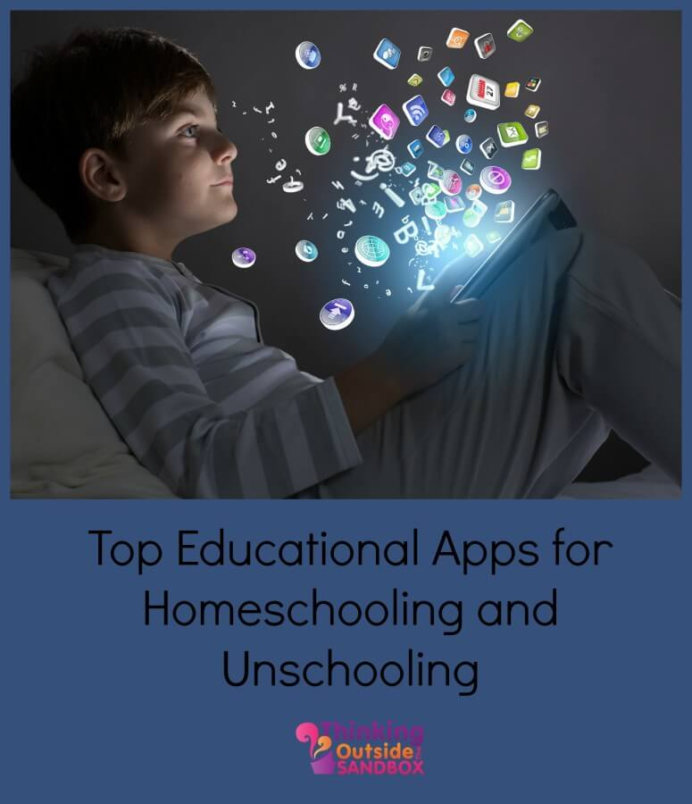 TOTS Family, Parenting, Kids, Food, Crafts, DIY and Travel apps Top Educational Apps for Homeschooling and Unschooling Kids Parenting  unschool tablet kindle ipad homeschool apps amazon