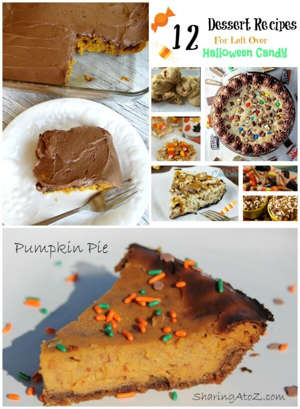 Featured dessert recipes for Thankgiving.