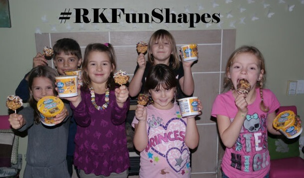 Kellogg's Rice Krispies Multi-Grain Shapes Craft Party! #RKFunShapes