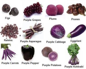color purple blue-and-purple-fruits-and-vegetables