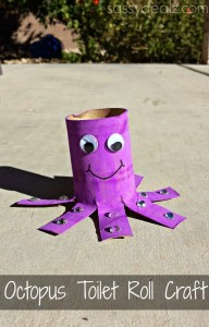 TOTS Family, Parenting, Kids, Food, Crafts, DIY and Travel octopus-toilet-paper-roll-craft-192x300 Color My World Series #6 ~ Purple. Introducing the Color Purple into Daily Activities. Crafts Kids TOTS Family Uncategorized  teaching colors purple preschool homeschool education color children