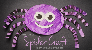 TOTS Family, Parenting, Kids, Food, Crafts, DIY and Travel spidercraft-005-300x165 Color My World Series #6 ~ Purple. Introducing the Color Purple into Daily Activities. Crafts Kids TOTS Family Uncategorized  teaching colors purple preschool homeschool education color children