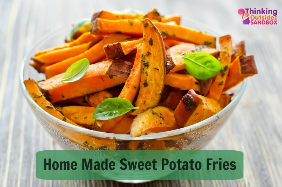 TOTS Family, Parenting, Kids, Food, Crafts, DIY and Travel sweet-potato-fries Homemade Sweet Potato Fries Food Miscellaneous Recipes TOTS Family  yam sweet potato recipe home made fries food