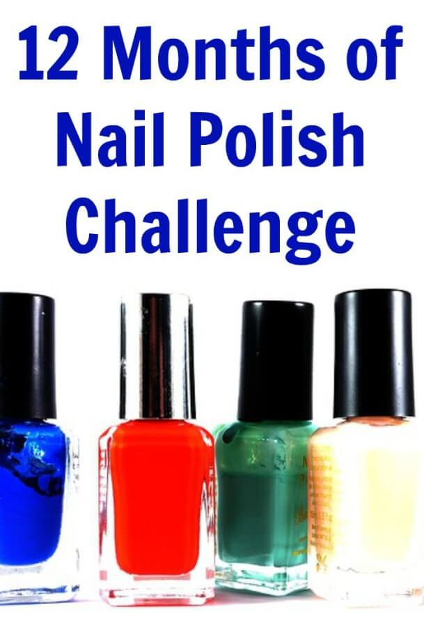 12 Months of Nail Polish Challenge