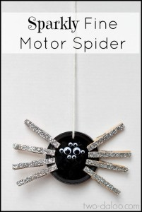 Black Spider - Introducing the Color Black into Daily Activities