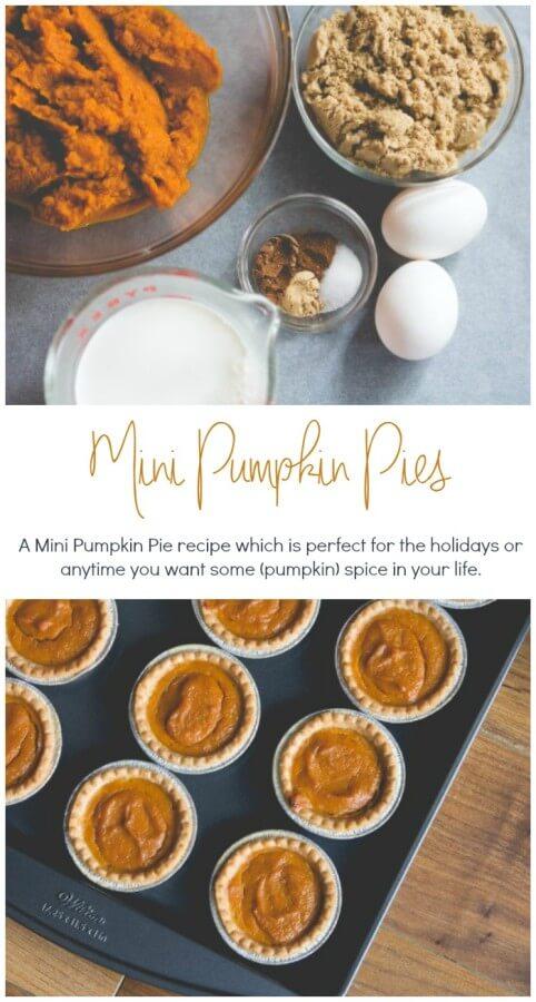Easy Mini Pumpkin Pie Recipe