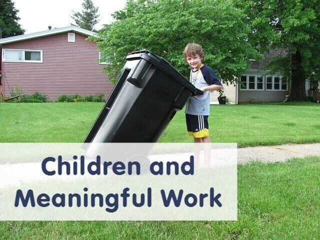 Children and Meaningful Work