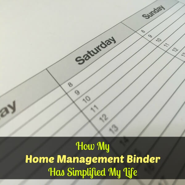 3 reasons to consider making a home management binder
