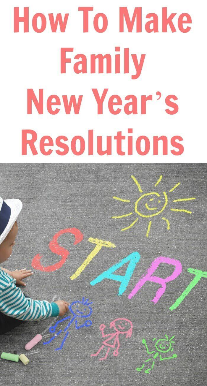 With the year coming to end soon, that means a new year is upon us and feeling ambitious - How To Make Family New Year's Resolutions.