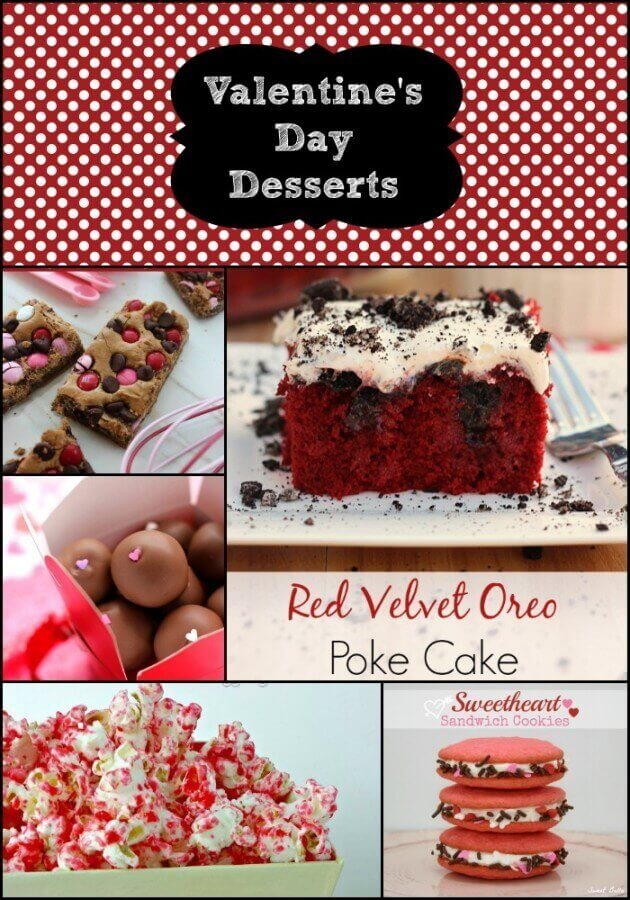 Valentine's Day Dessert Round Up