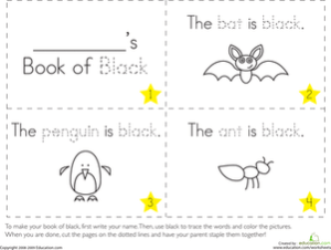 color-black-colors-fine-motor - Introducing the Color Black into Daily Activities
