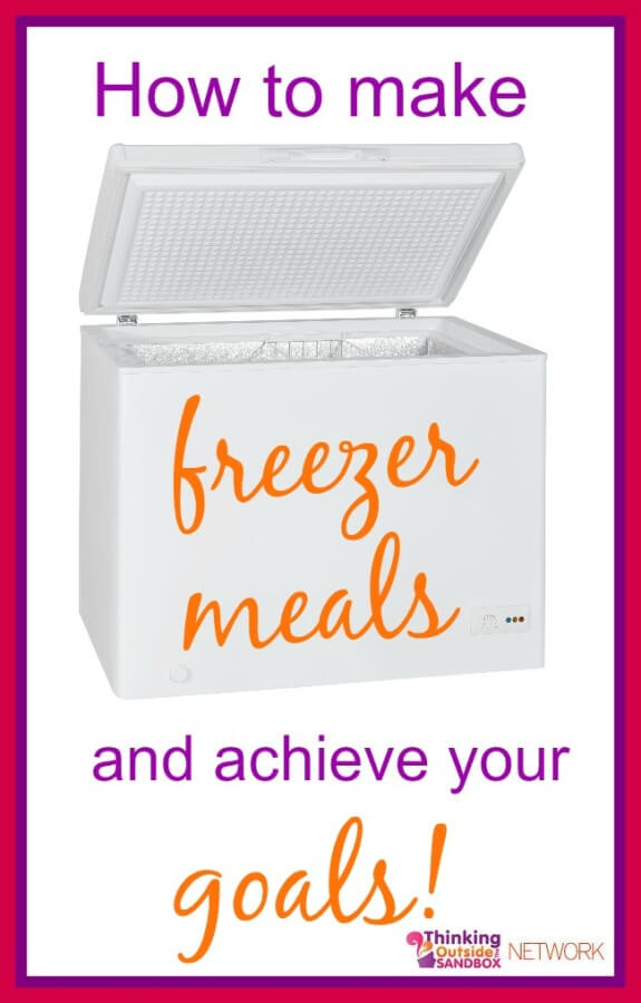 Tips for making freezer meals and places to find freezer meals.