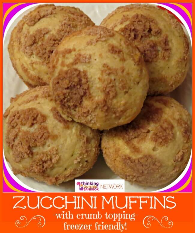 One of the easiest things to freeze are muffins and breads - Zucchini Muffins: Freeze for Later or Eat Now!