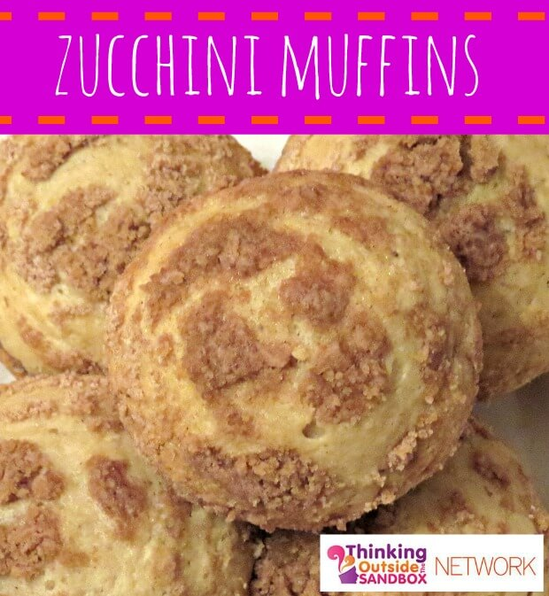 Zucchini muffins-- perfect to make ahead and freeze for later!