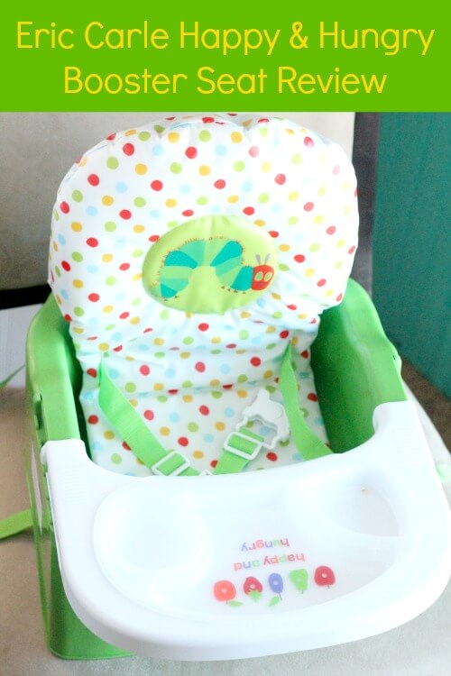 Eric Carle Booster Seat Review