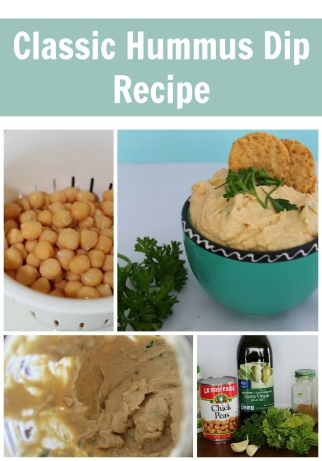 TOTS Family, Parenting, Kids, Food, Crafts, DIY and Travel Classic-Hummus-Dip-Recipe Classic Hummus Dip Recipe Food Miscellaneous Recipes TOTS Family  recipe quick hummus easy chick peas