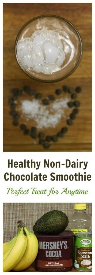 TOTS Family, Parenting, Kids, Food, Crafts, DIY and Travel Healthy-Non-Dairy-Chocolate-Smoothie Healthy Non-Dairy Chocolate Smoothie Recipe Food Miscellaneous Recipes TOTS Family  smoothies quick non-dairy kids easy chocolate