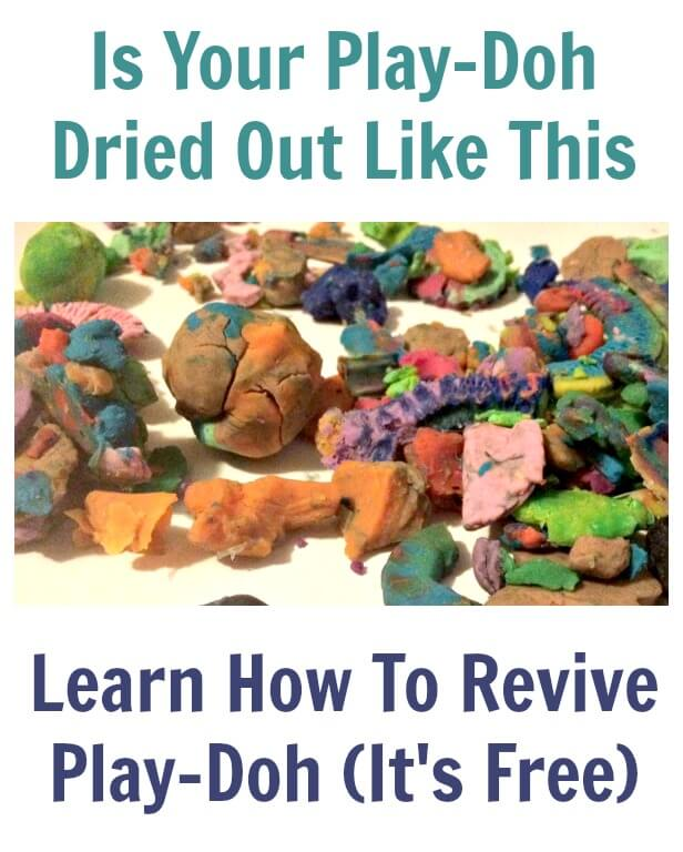Learn How To Revive Play-Doh