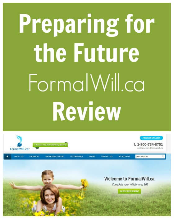 Preparing for the Future - FormalWill.ca Review