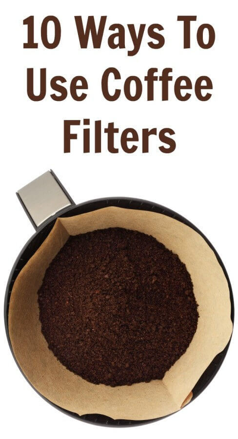 10 Ways To Use Coffee Filters Besides The Obvious