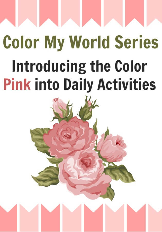 TOTS Family, Parenting, Kids, Food, Crafts, DIY and Travel Color-My-World-Introducing-the-Color-Pink-into-Daily-Activities. Color My World Series #10 ~ Pink. Introducing the Color Pink into Daily Activities Crafts Kids TOTS Family  toddlers teaching preschool pink kids homeschool craft for kids craft