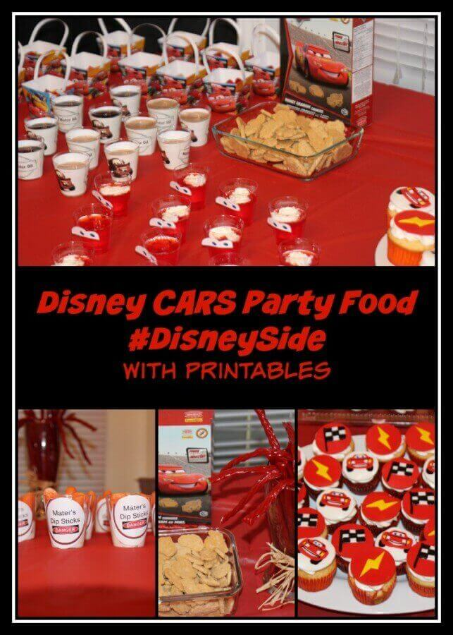 TOTS Family, Parenting, Kids, Food, Crafts, DIY and Travel Disney-CARS-Party-Food-DisneySide Disney CARS Party Food #DisneySide - With Printables Food Kids Miscellaneous Recipes  party mater lightening mcqueen kids birthday jello food disneyside