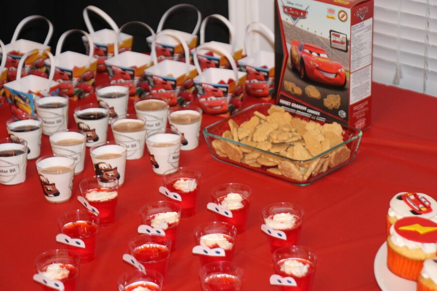 TOTS Family, Parenting, Kids, Food, Crafts, DIY and Travel IMG_3558 Disney CARS Party Food #DisneySide - With Printables Food Kids Miscellaneous Recipes  party mater lightening mcqueen kids birthday jello food disneyside