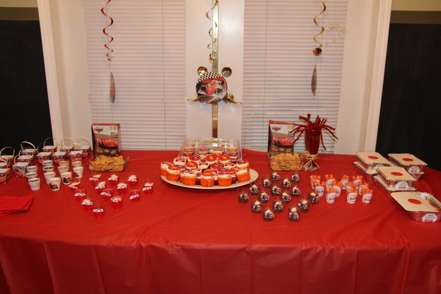 Disney CARS Party Food