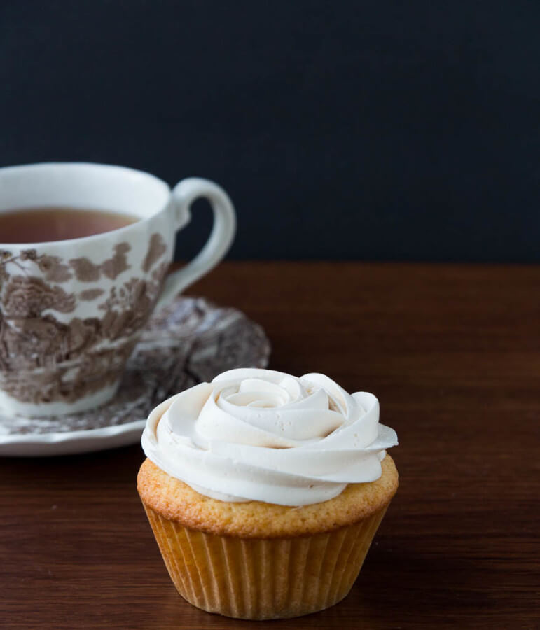 Cremin Earl Grey Tea Latte Cupcake