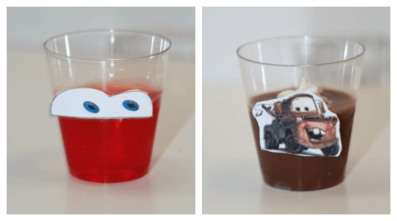 TOTS Family, Parenting, Kids, Food, Crafts, DIY and Travel Lightening-McQueen-and-Mater Disney CARS Party Food #DisneySide - With Printables Food Kids Miscellaneous Recipes  party mater lightening mcqueen kids birthday jello food disneyside